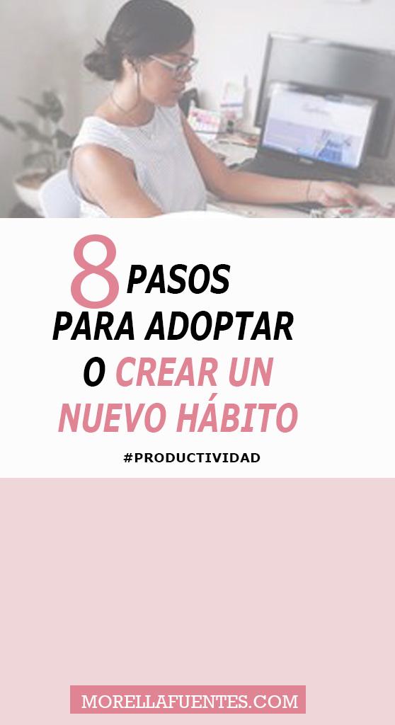 crear un  hábito positivo