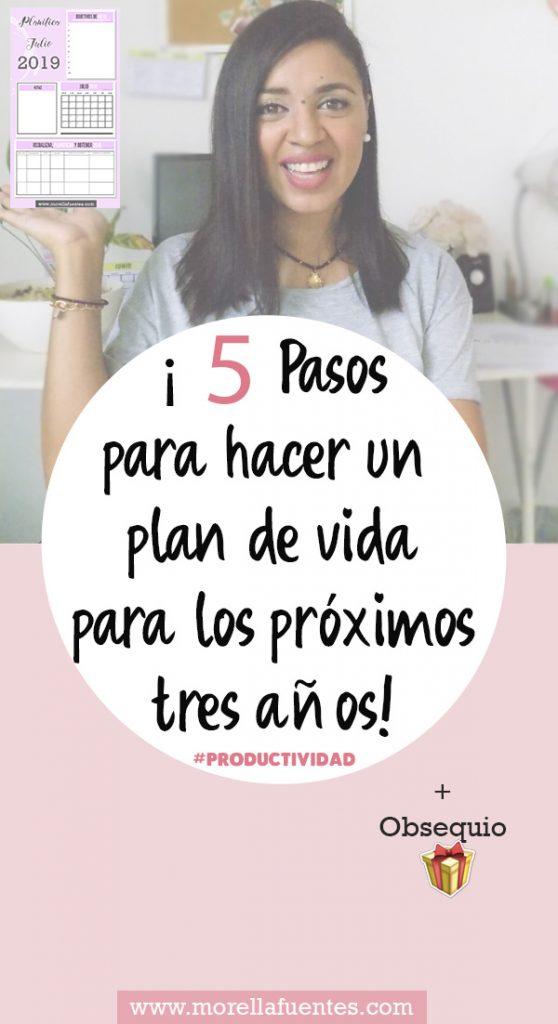 planificar tu vida
