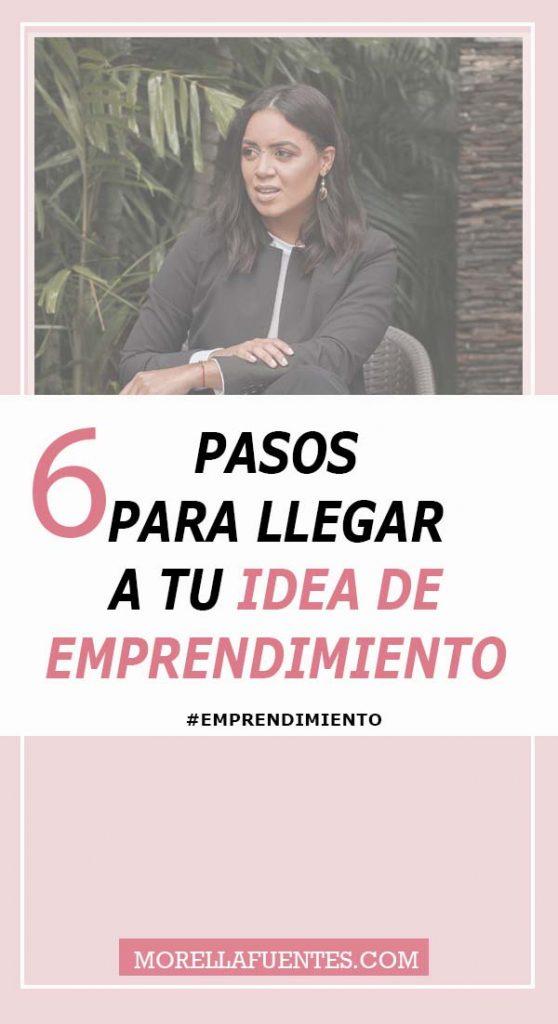 idea de emprendimien